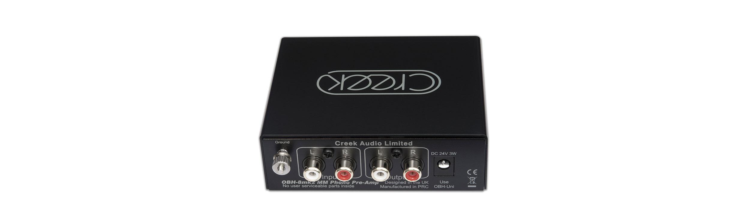 Creek Audio - OBH-8mk2 Phono Stage Rear